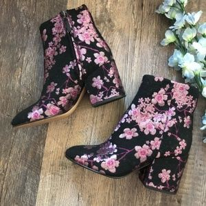 Sam Edelman | Cherry Blossom Tapestry Boots